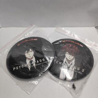 AFA Psycho Pass anime badges