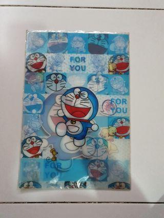 🚚 Doraemon a4 size file holder