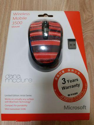 Microsoft Wireless Mobile 3500 Mouse Limited Edition