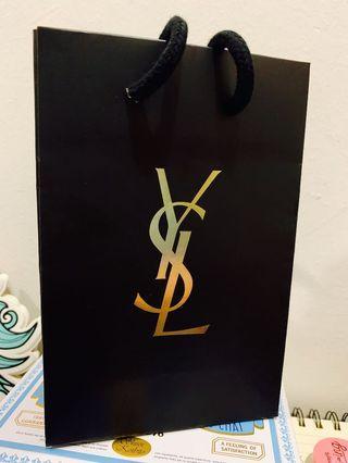 YSL paperbag