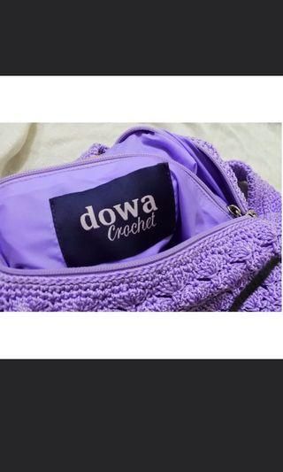 Dowa Purple Crochet Bag