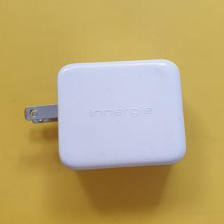 Innergie PowerJoy Pro 24 Dual USB Wall Charger US 2 Flat Pin