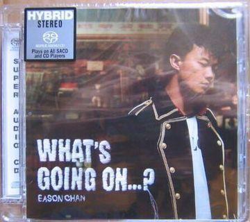 What's going on Eason 陳奕迅 SACD 限量編號版 0058 全新未拆封