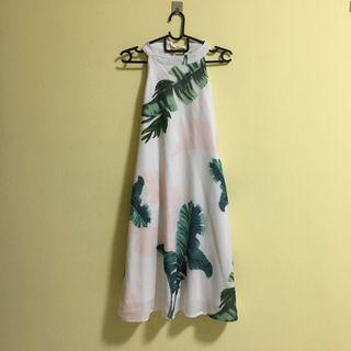 FLASH SALE: ACW Tropical Paradise Halter Neck Swing Dress