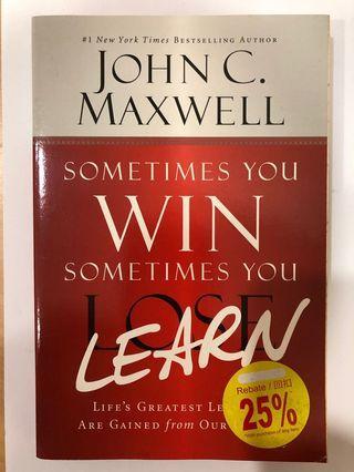 Win & Learn - John Maxwell