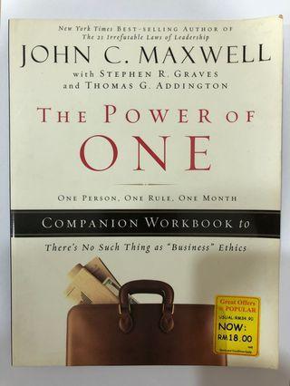 Power of One - John Maxwell