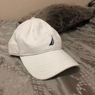 White Nautica Cap