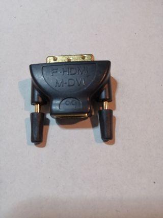 M-DVI TO  F-HDMI CONVERTER