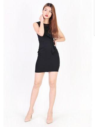 MGP Krystle Mesh Dress in Black