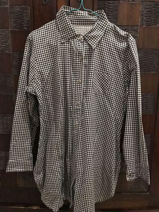 Kemeja kotak Plaid Shirt