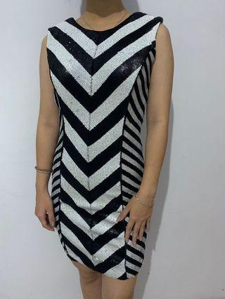 Stripe Dress murah