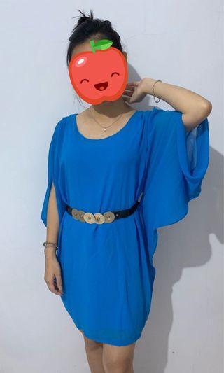 Blue Dress murah