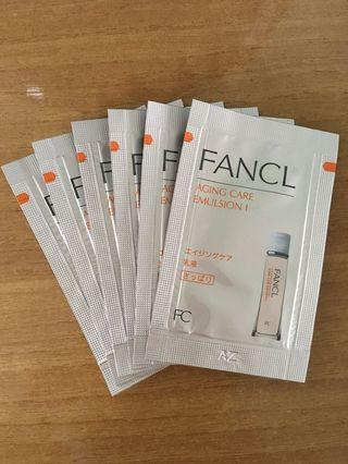Fancl Emulsion Travel Set 6包