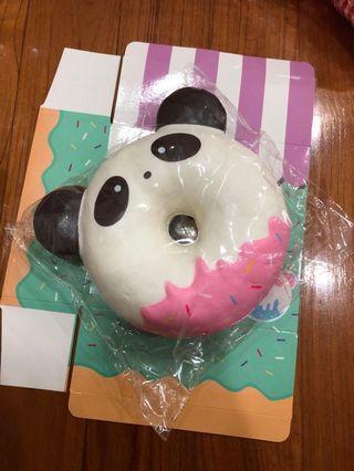 🚚 punimaru panda donut squishy