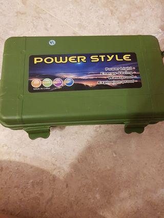🚚 Power style power flash light led