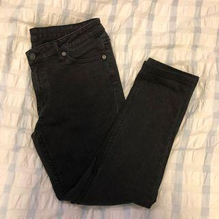 Cheap Monday High Waist Black Skinny Jeans
