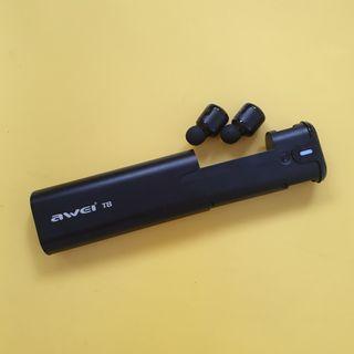 Awei T8 TWS Wireless Bluetooth In Ear Earphone Earbuds With Charging Dock Case