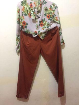 Satu set baju+celana
