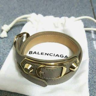 Balenciaga Triple Tour grey bracelet