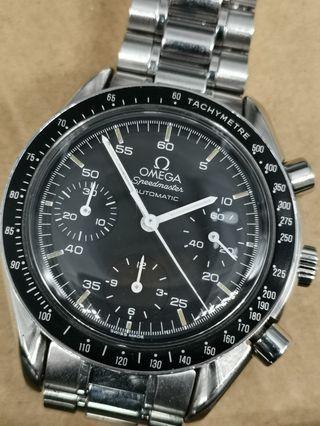 Omega Speedmaster Automatic 細月球 3510.50 全鋼自動上弦計時手錶