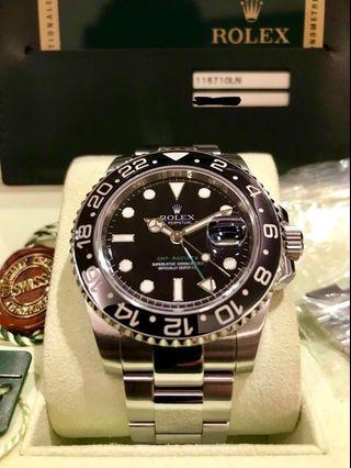 Rolex GMT Master 2 Green Hand [Discontinued Model]