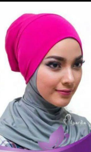 #maugopay inner Hijab Ciput arab antem/bandana anti pusing/daleman kerudung