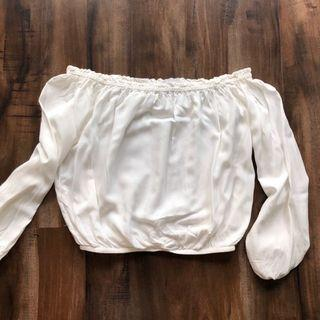 BNWT Brandy Melville Maura Off the Shoulder Top