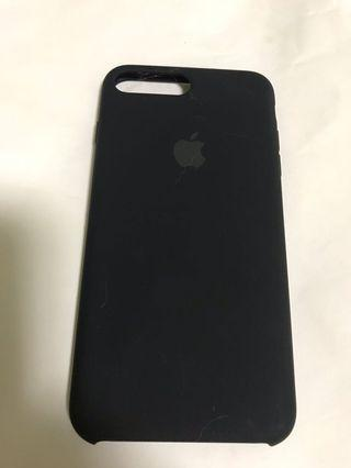 100% Apple Orignial iPhone 8P Silicone Case Black 蘋果原裝手機殼