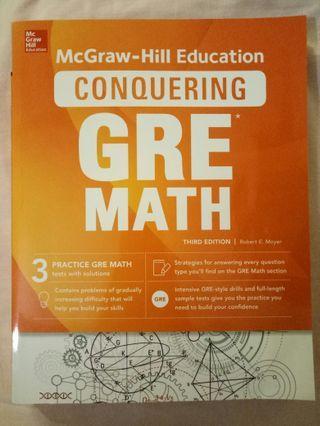GRE Mathematics revision book