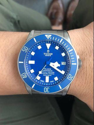 [SG CHEAPEST] Tudor Pelagos (Blue) 25600TB