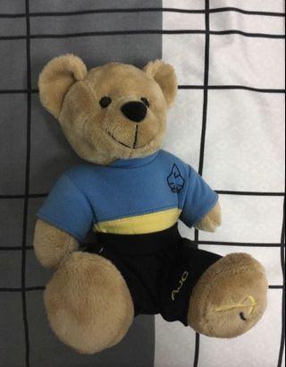 Anderson junior college 25th anniversary bear