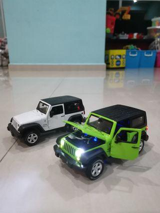 JEEP WRANGLER DIE CAST TOY Car. OFFER YOUR PRICE!