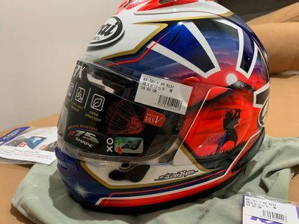 Helm Arai Dani Pedrosa RX7X terbaru