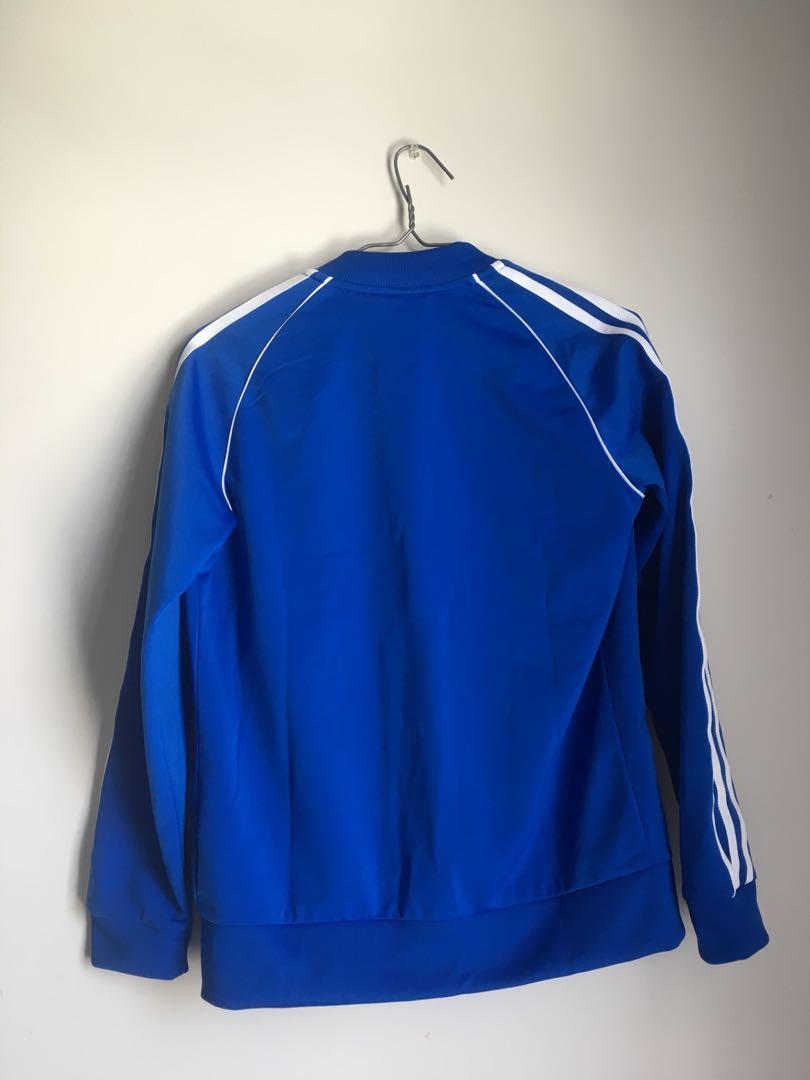 ADIDAS Blue Women's Tracksuit Jacket (price negotiable)