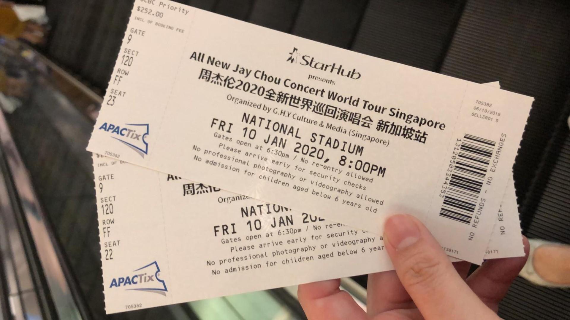 All New Jay Chou Concert World Tour