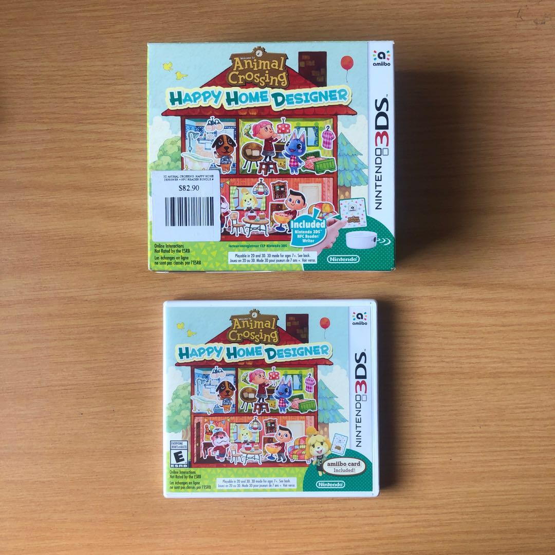 Animal Crossing Happy Home Designer HHD Preloved