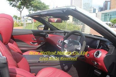 BRAND NEW MERCEDES-BENZ S63 AMG CABRIO