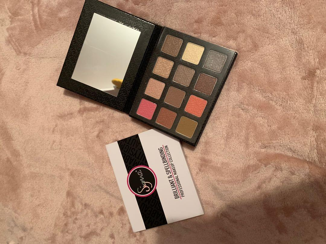 Brand New Sigma Brilliant&Spellbinding Eyeshadow Palette