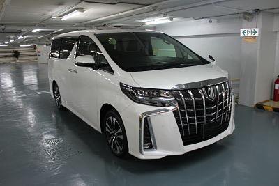 Brand New Toyota Alphard Executive Lounge