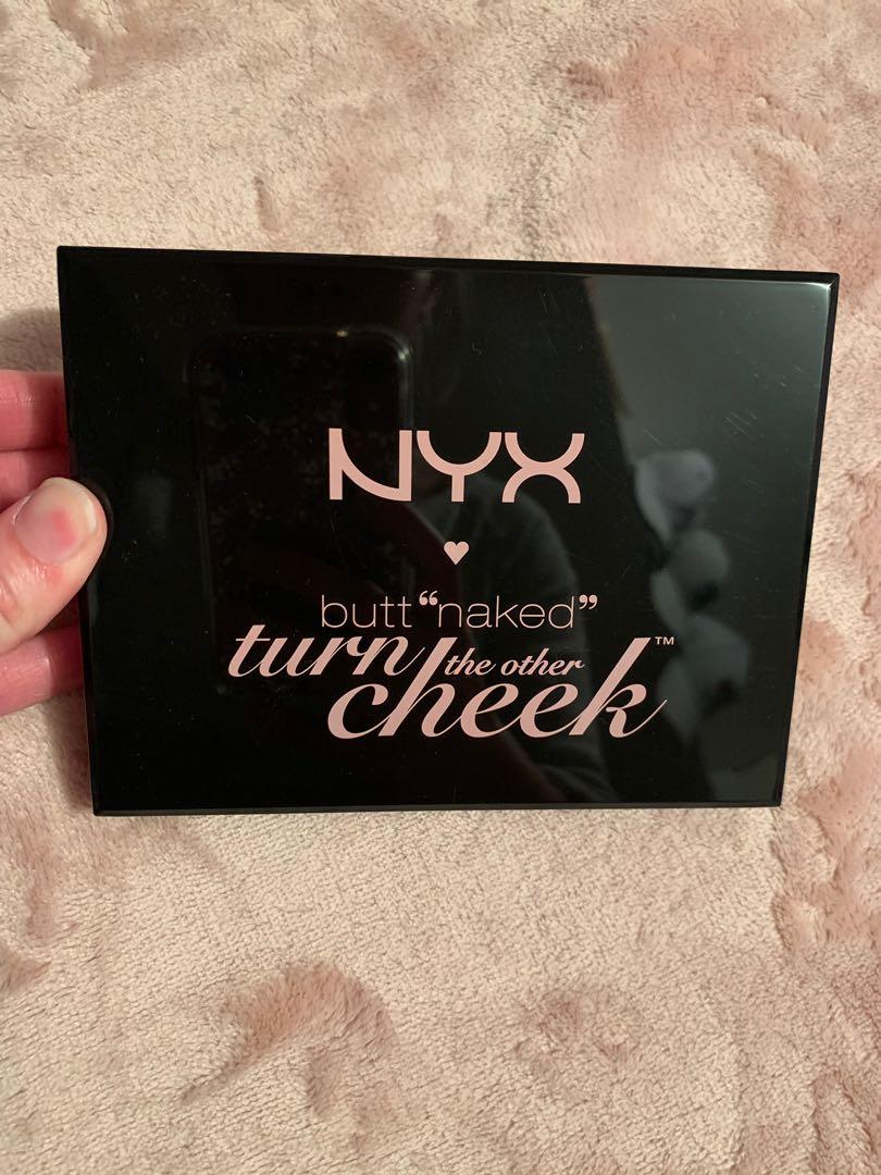 Brandr New NYX Turn The Cheek Blush Highlight Contour Eyeshadow Palette
