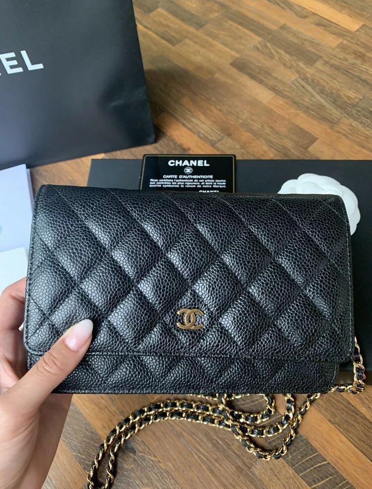 Chanel wallet pochette
