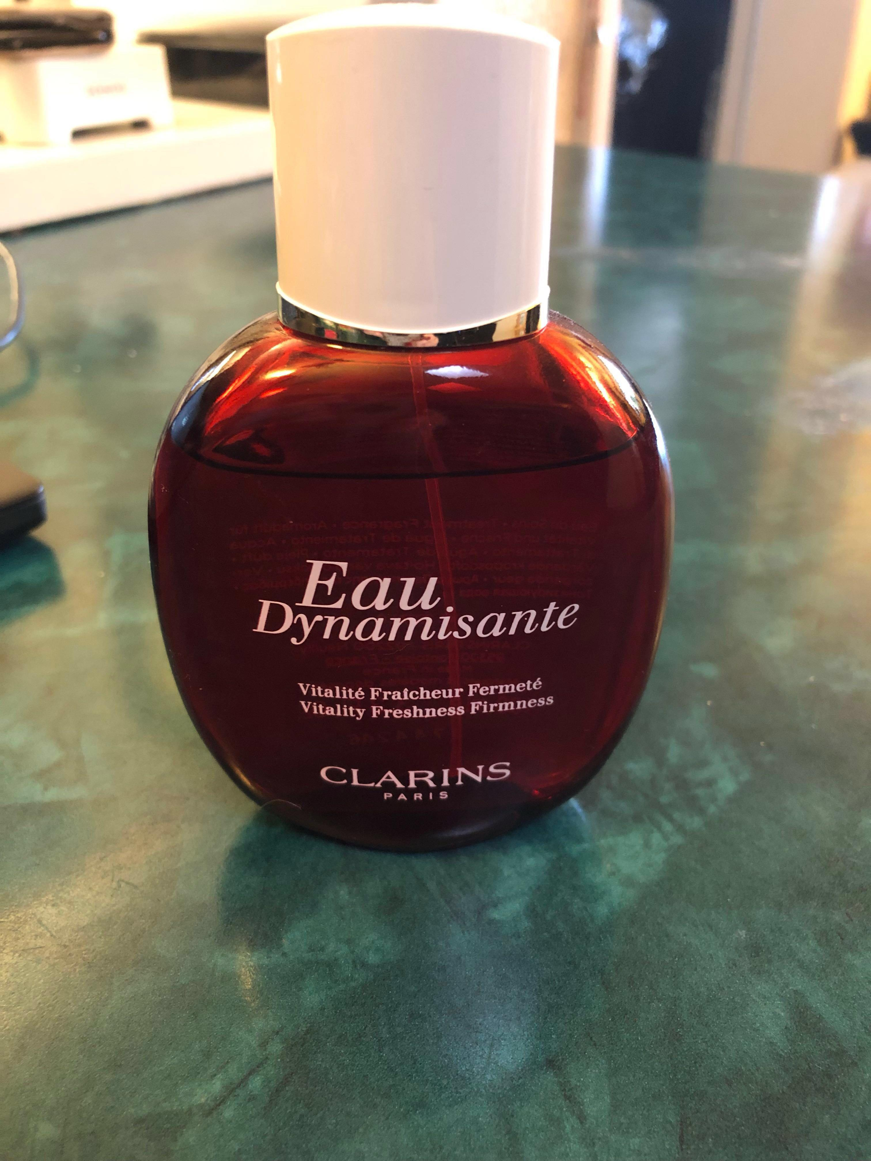 Clarins Eau Dynamisante treatment fragrance 100ml bottle almost new