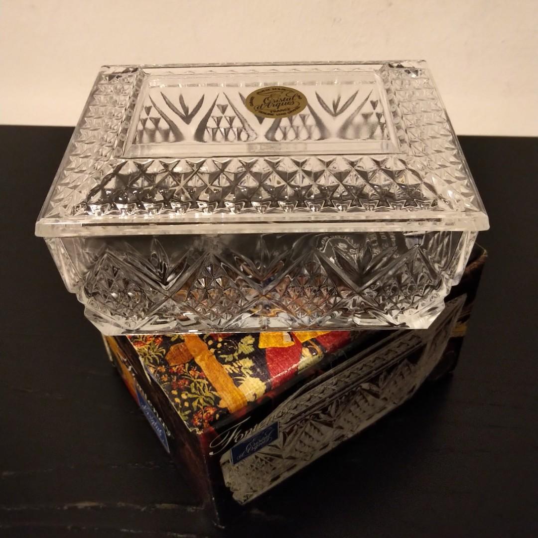Fontenay Cristal Glass Box