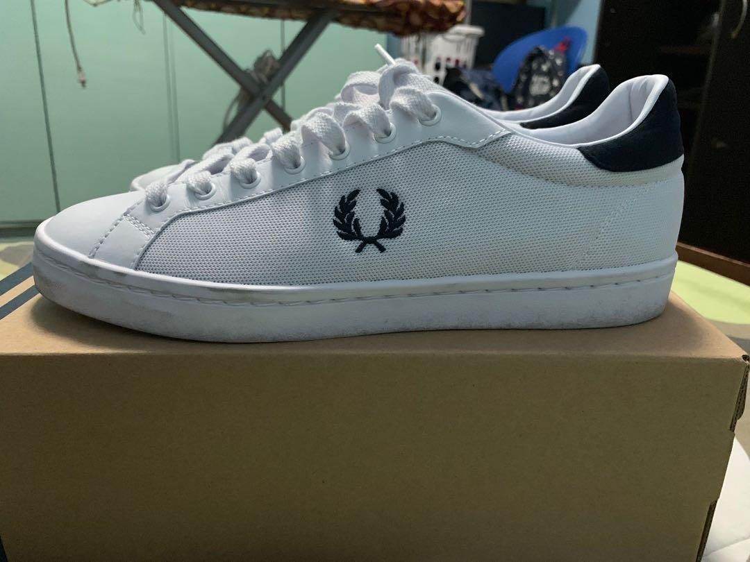 Fred Perry Lawn Leather / Mesh with
