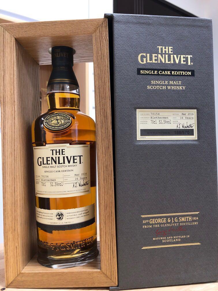 Glenlivet 2000 single cask Blethermen 16年 whisky 威士忌