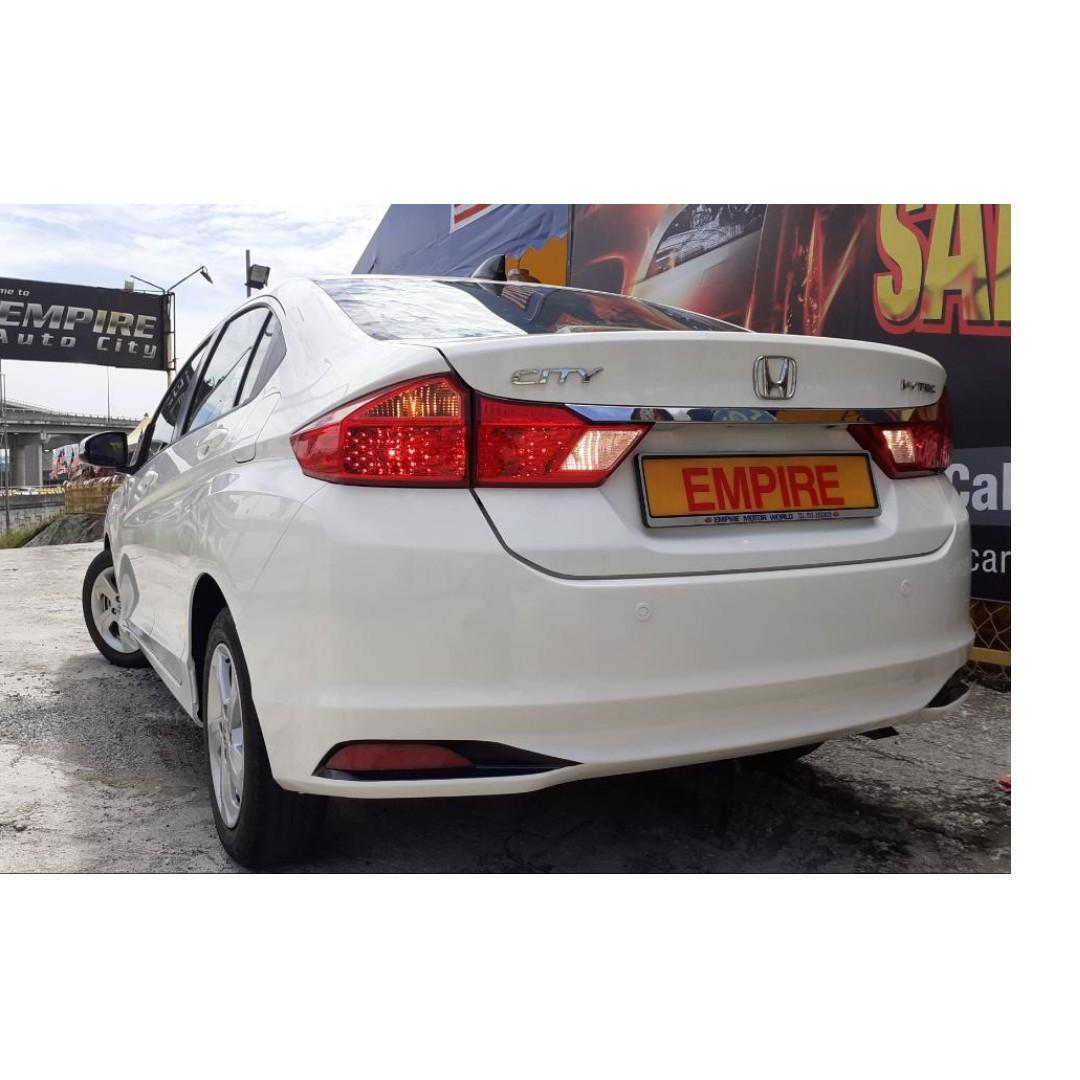 HONDA CITY S+ 1.5 (A) I-VTEC !! MILEAGE DONE ONLY 45, 599 KM !! FULL SERVICE RECORD BY HONDA !! UNDER WARRANTY UNTILL 2021 !! NEW FACELIFT !! PREMIUM FULL SPECS !! ( VX 9435 ) 1 CAREFUL OWNER !!