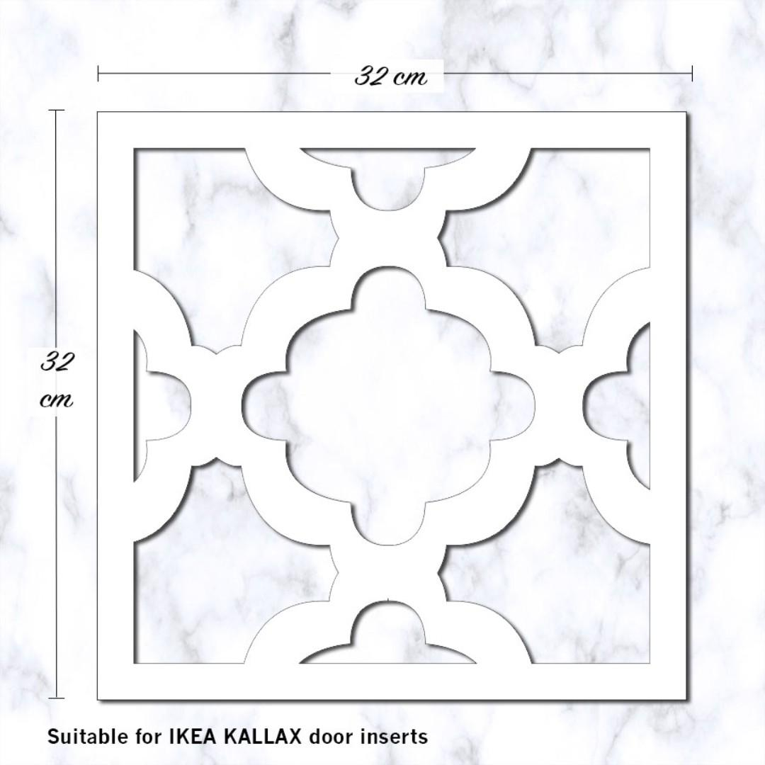 IKEA KALLAX Clover Decorative Panels