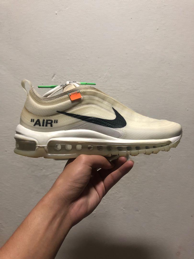 Nike Airmax 97 x Offwhite OG, Men's