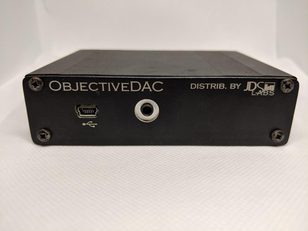 Objective2 O2 and ODAC Amp DAC, Electronics, Audio on Carousell