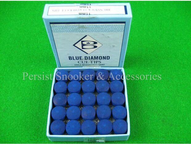 Original Blue Diamond Snooker Cue Tips